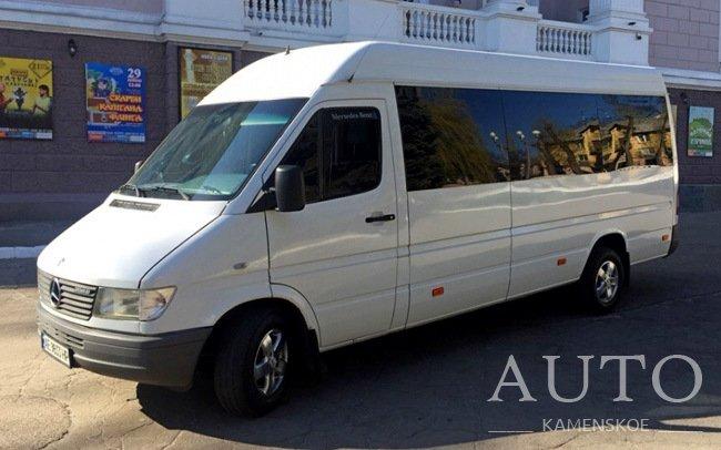 Аренда Микроавтобус Mercedes Sprinter на свадьбу Каменское